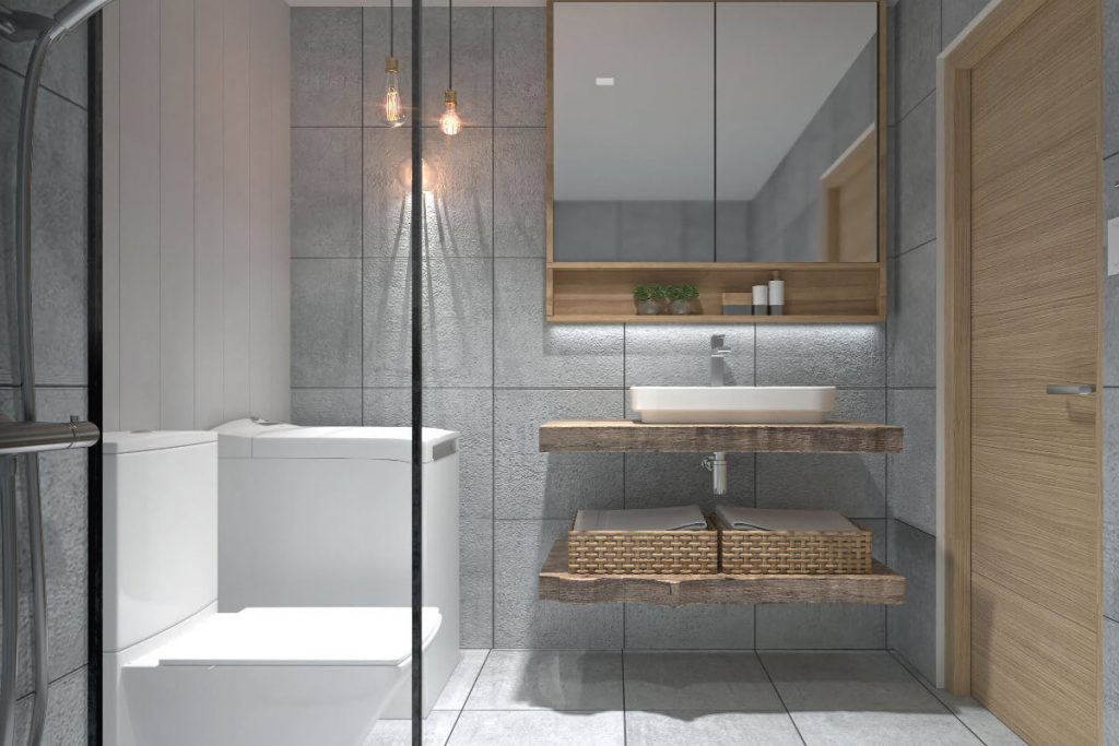 1BR with Balcony Bathroom - Mint Residences