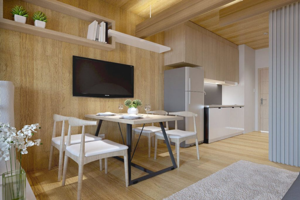 1BR with Balcony Dining - Mint Residences