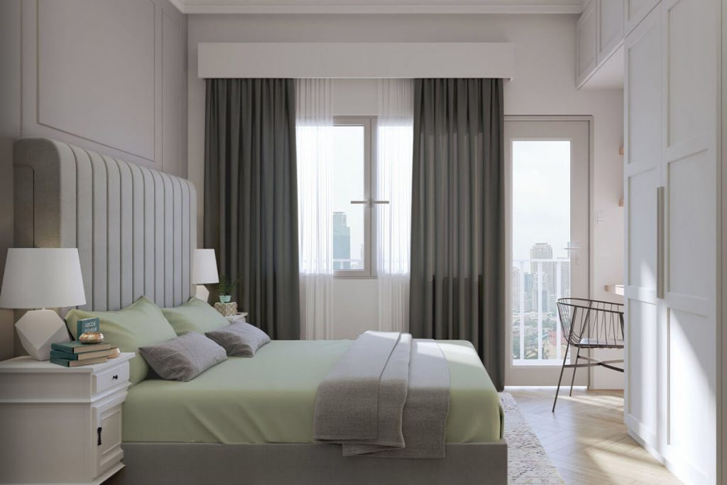 1BR Deluxe Bedroom - Mint Residences