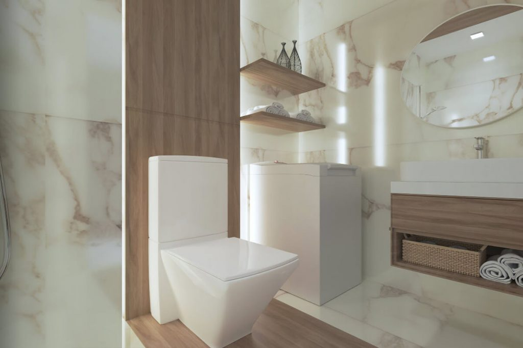 a1BR Deluxe Bathroom - Mint Residences