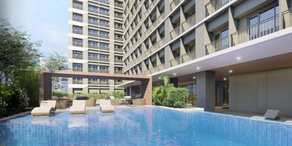 Amenity Pool Area - Mint Residences