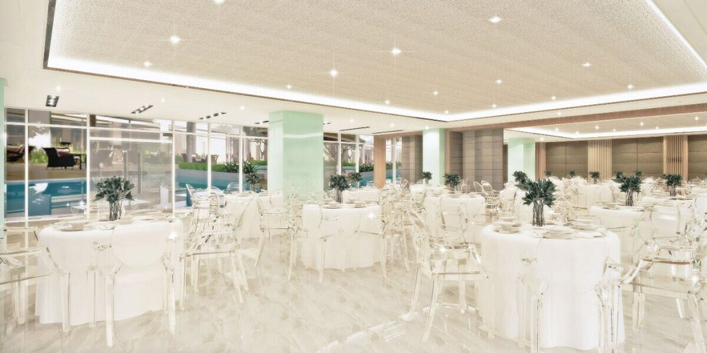 Dressed-up Function Room