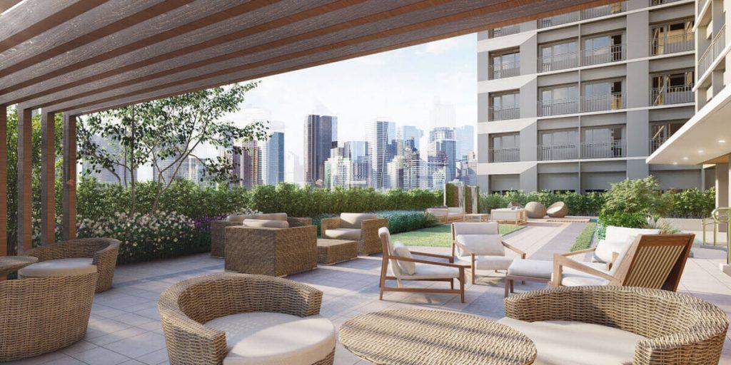 Trellis Lounge Area - Mint Residences