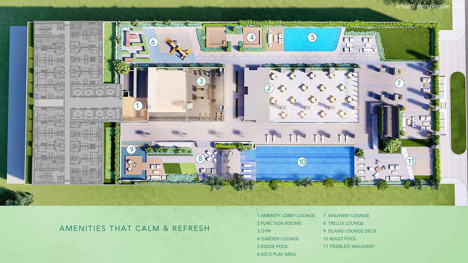Mint Residences Amenities Floor plan 2
